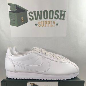 Nike Cortez White Leather 807471-102 Size 11.5